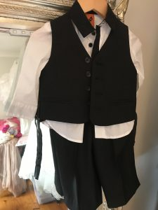 page boy suit alterations